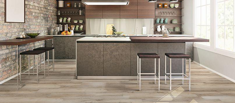 EVERLIFE™ LVT Flooring: Image Courtesy of  MSI