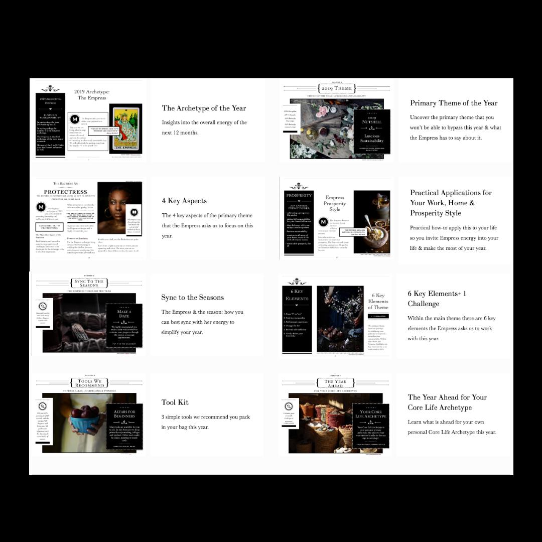 2019 Archetype Handbook | Archetypologist.com | Archetypes & Alchemy