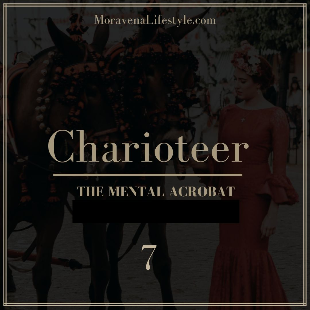 The Charioteer Life Archetype is the Mental Acrobat.