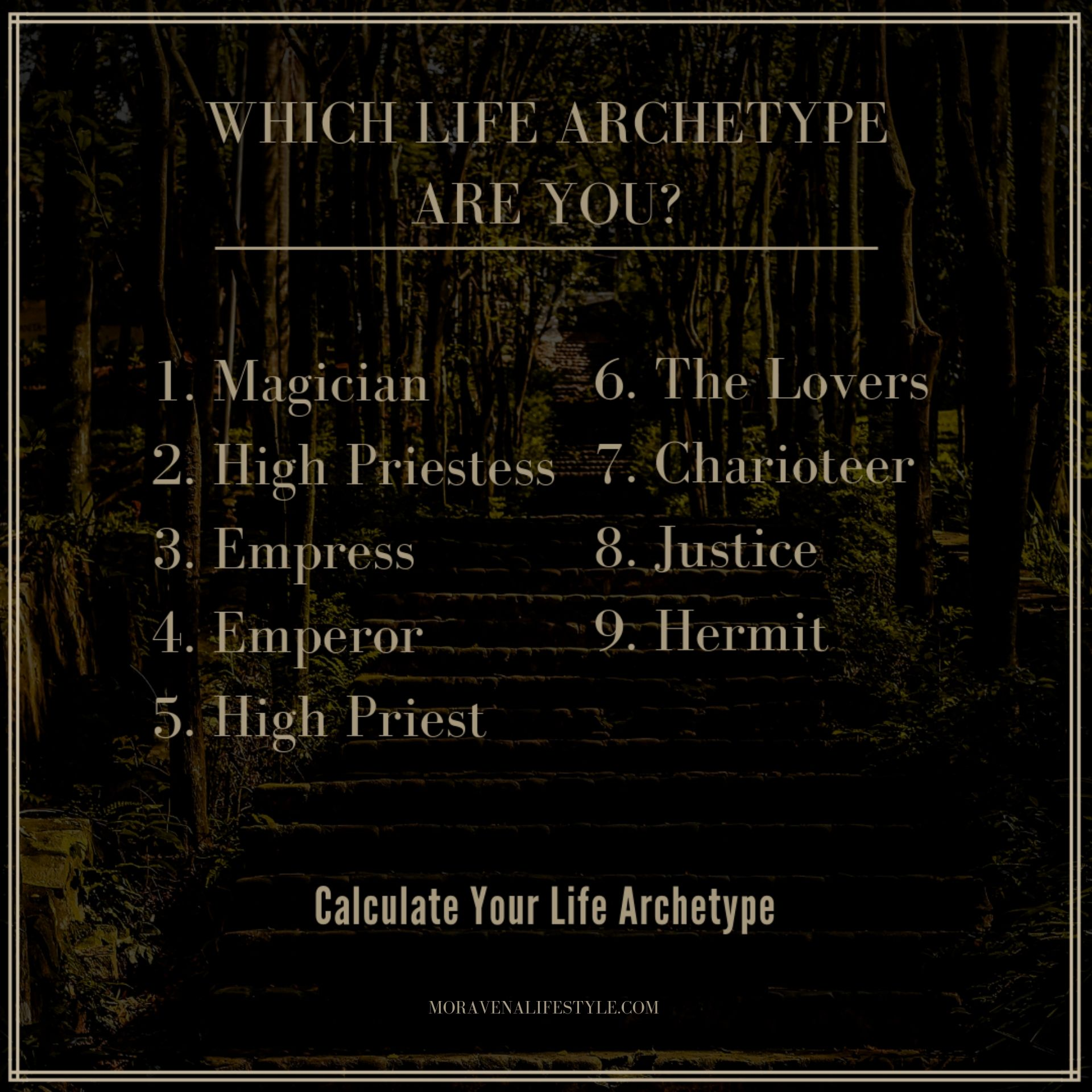 Which Life Archetype Are You? / MORAVENALIFESTYLE.COM.jpg