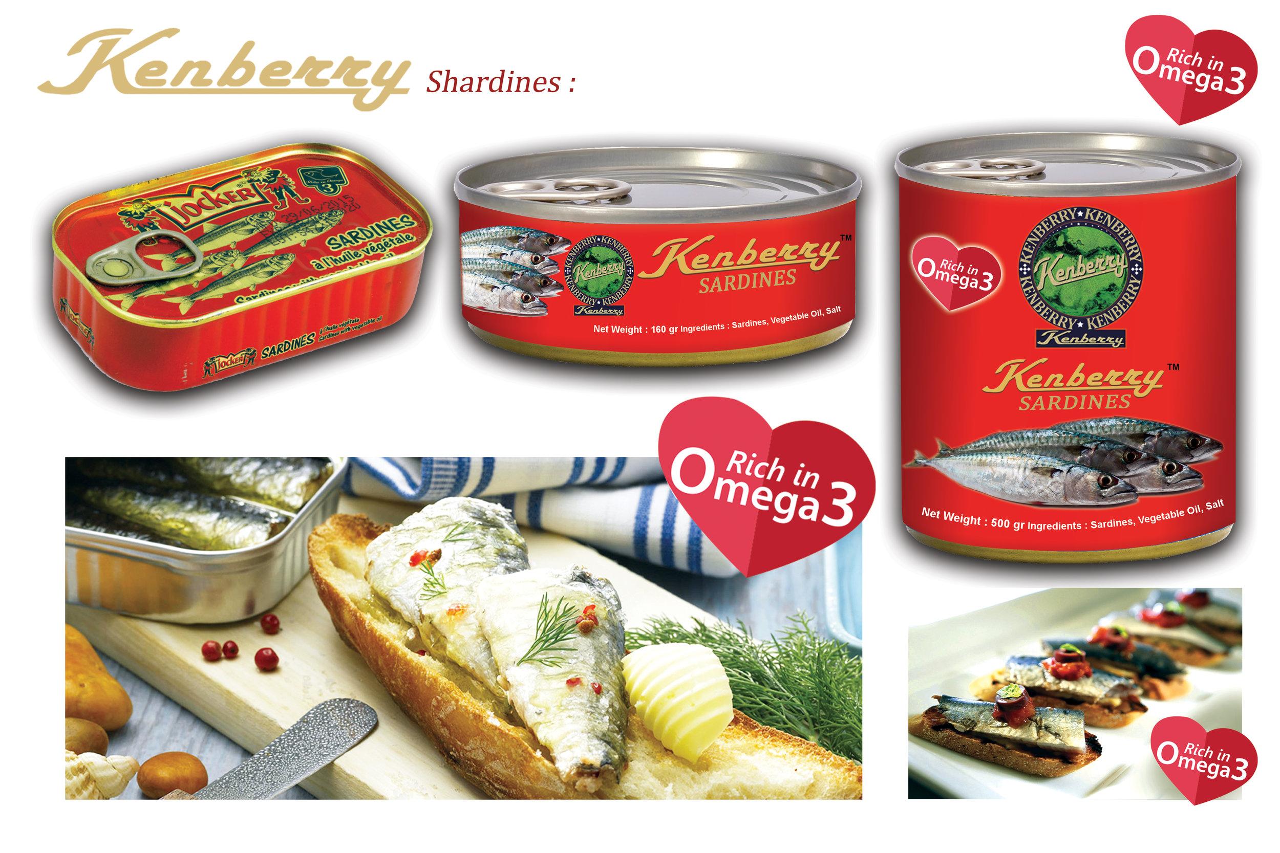 KENBERRY Sardines