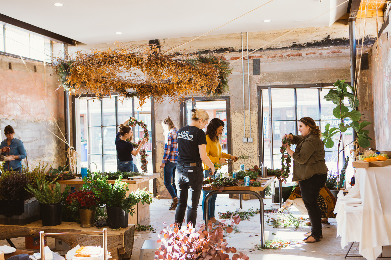 KKDW Wreath Workshop 4