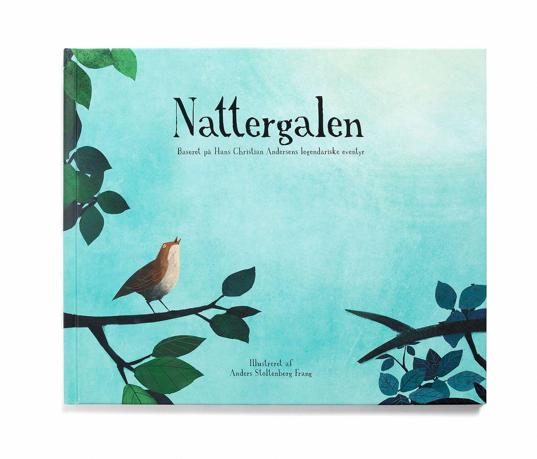 The Nightingale book, Danish, hard cover -  189.00 kr