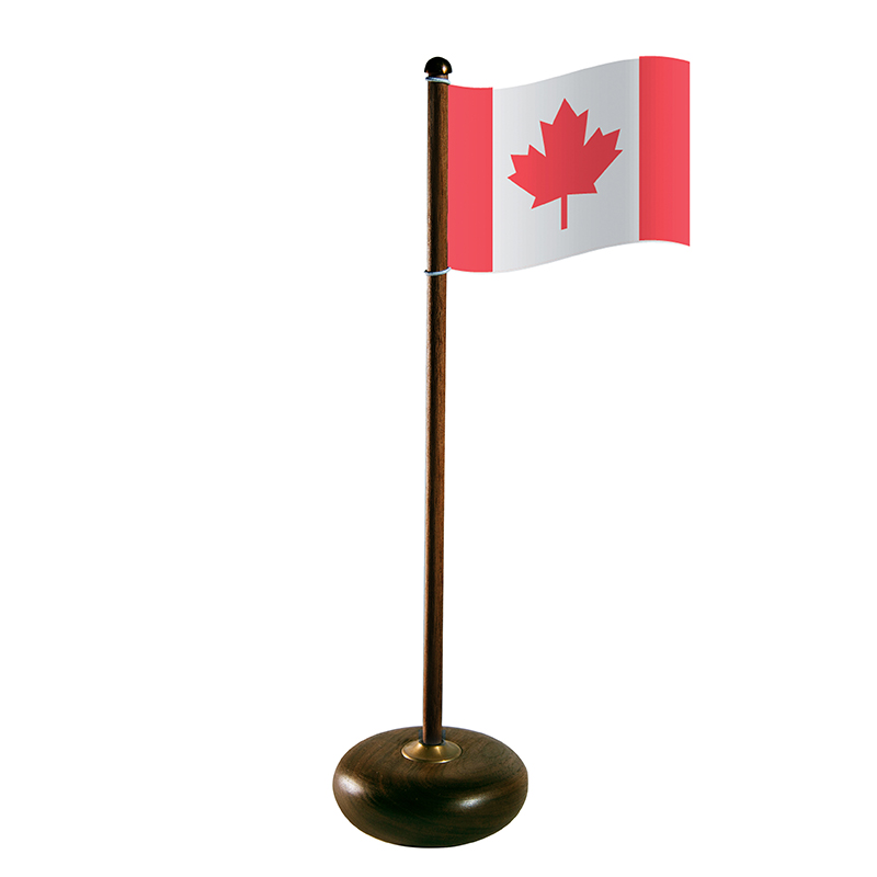 The Rocking Flag, Walnut Canada -  379.00 kr  (in stock from 16 September 2019)