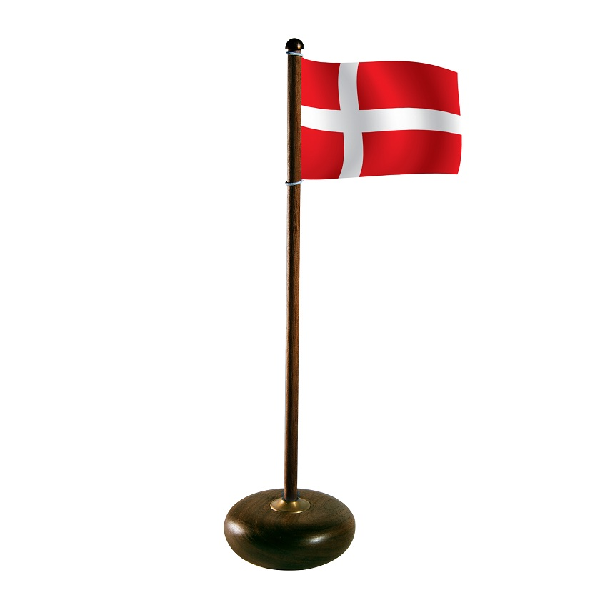 The Rocking Flag, Walnut Flagpole -  379.00 kr  (in stock from 16 September 2019)