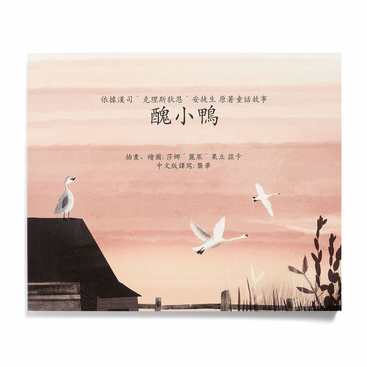Ugly Duckling book Chinese Original, soft cover -  149.00 kr