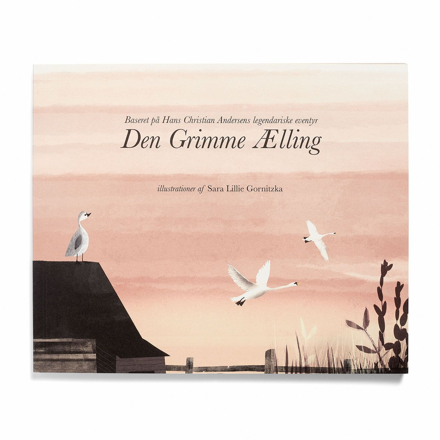 The Ugly Duckling book, Danish, hard cover -  189.00 kr