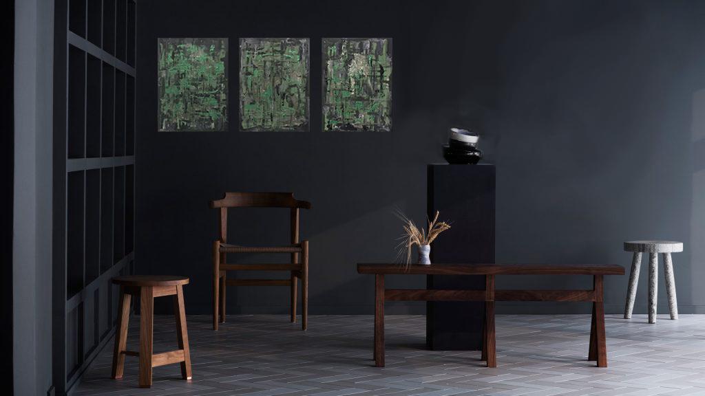 Cacti Series Interior - Samueldeaconart