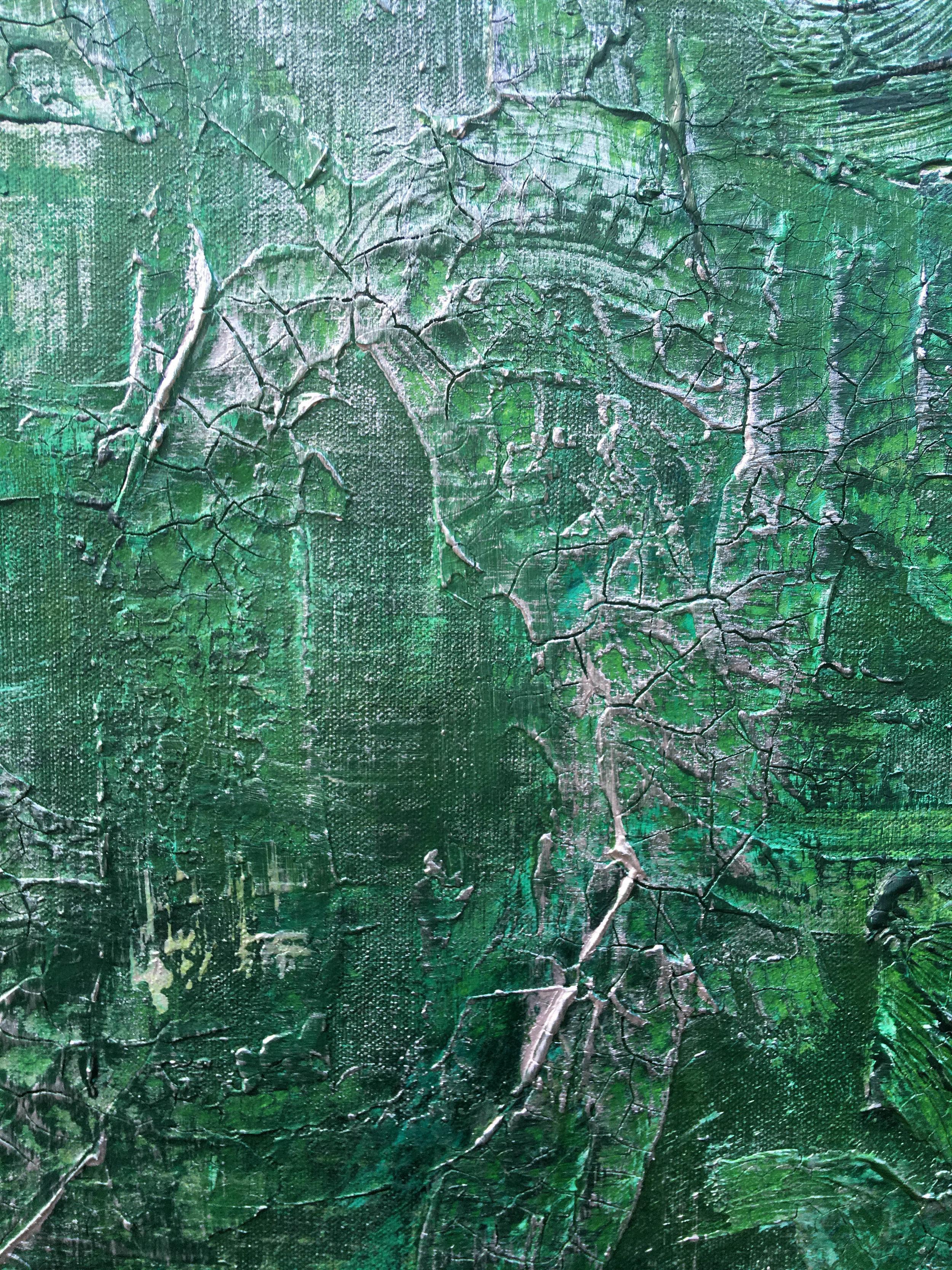Misty Woods - Detail SamuelDeaconArt