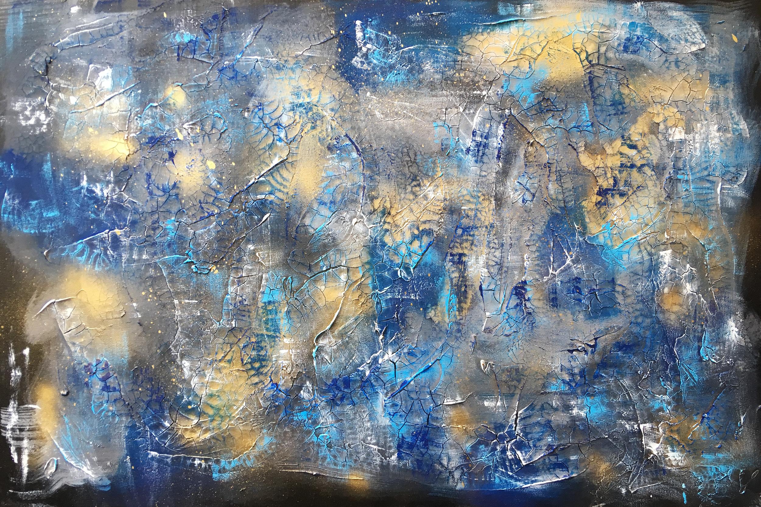Cosmic Seduction - Samuel Deacon Art