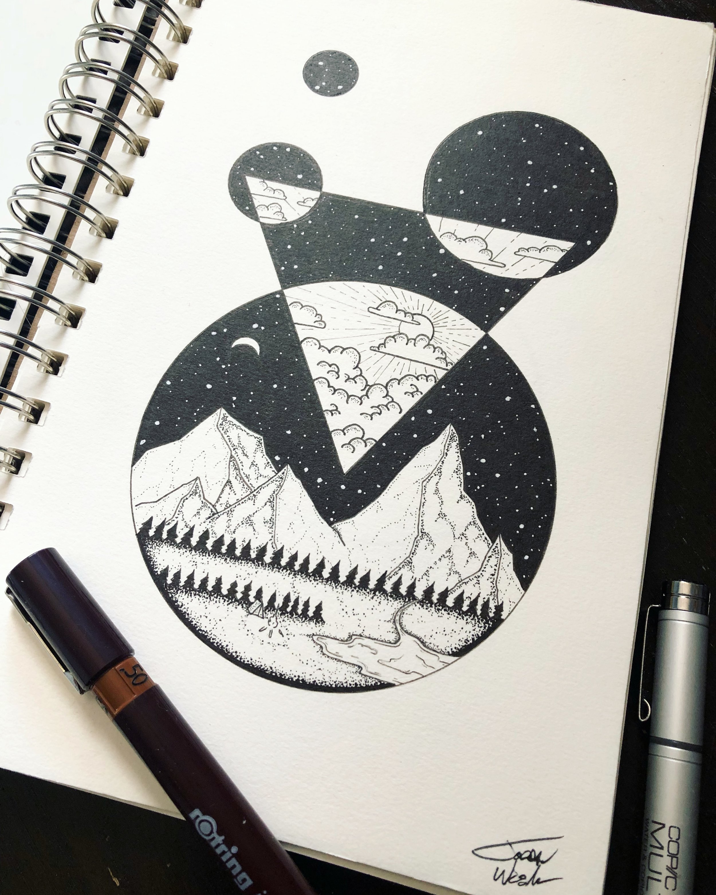 Circle Solitude