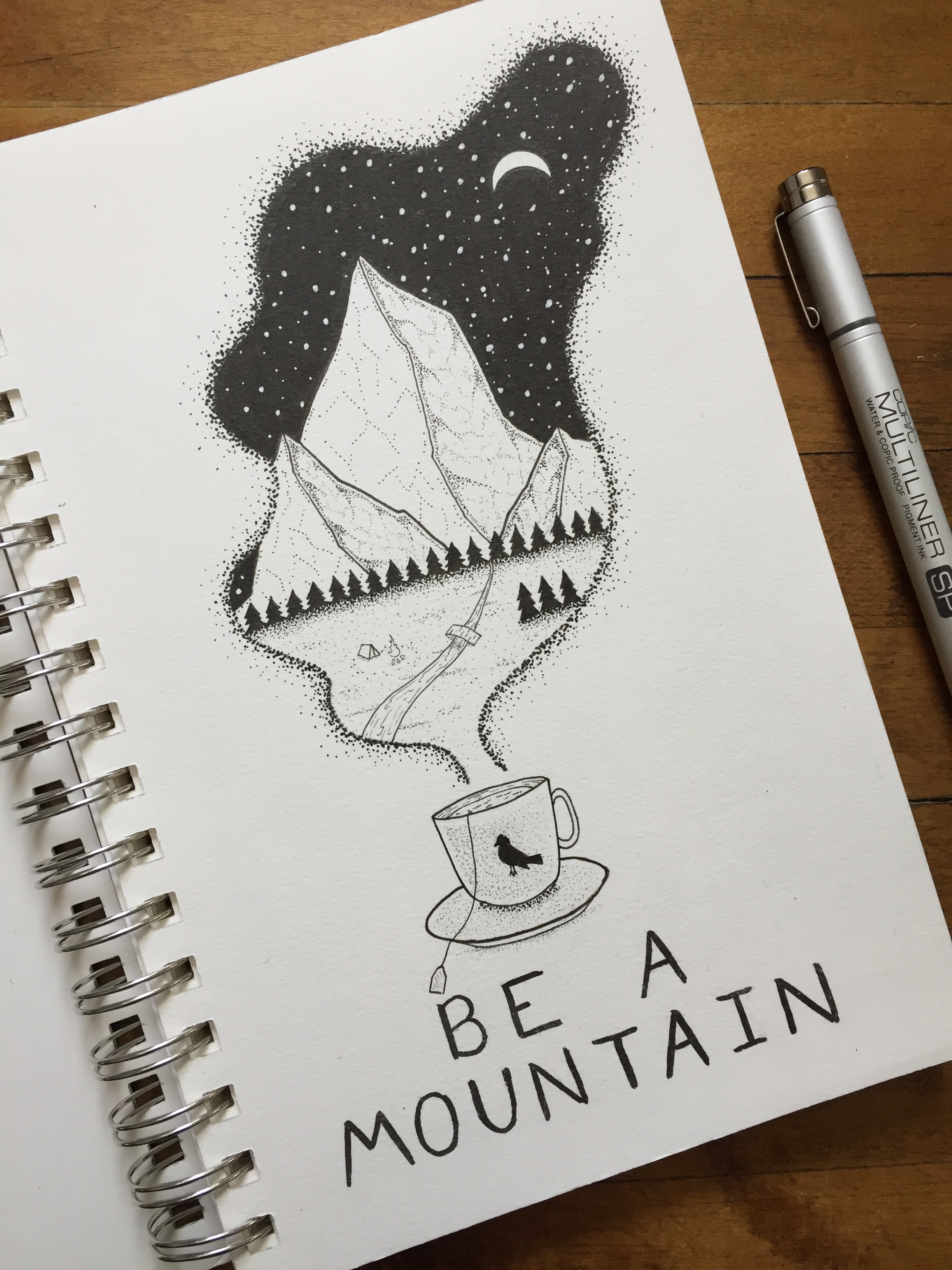 Be A Mountain