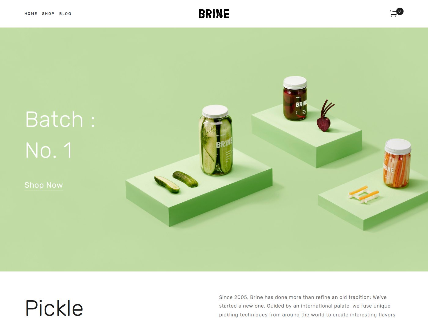 Helpful notes on the distinctive features of the Brine family of templates - Updated March 2018, now with extra info about this very special template family