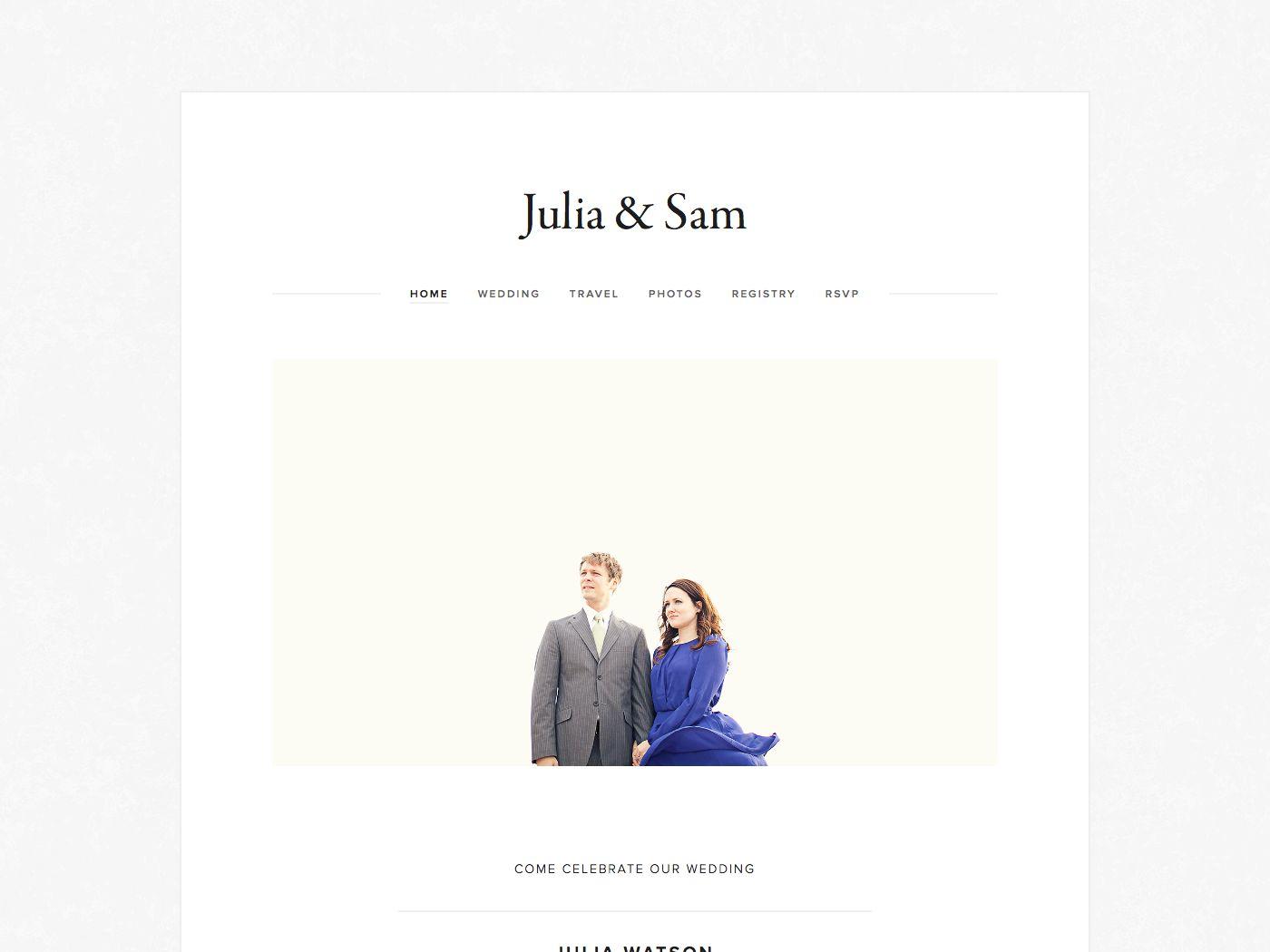 Julia template