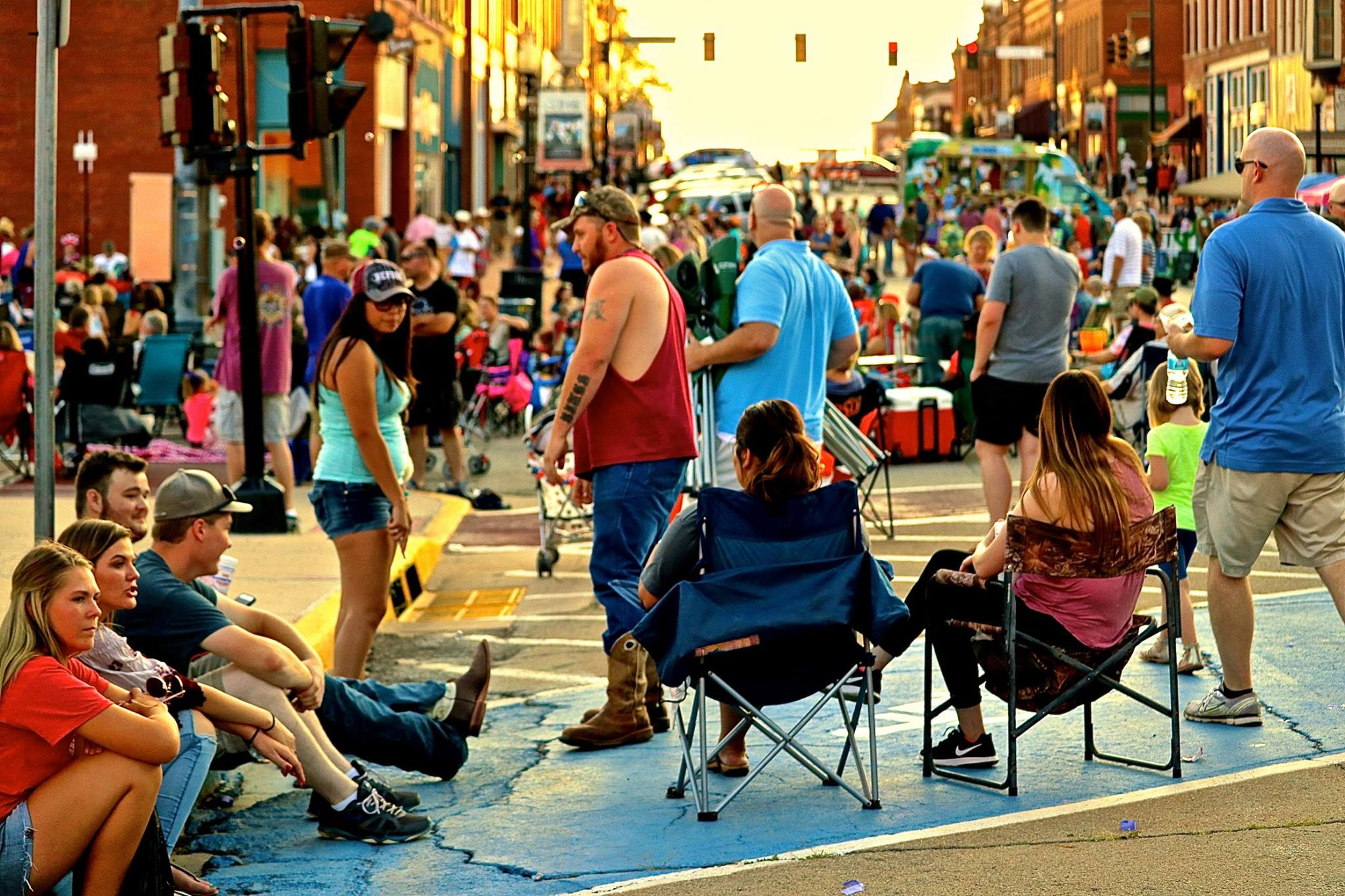 Red Brick Nights in Guthrie America