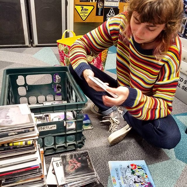 music director megan sorts through CDs and media acquired over the summer! temp sched up now!