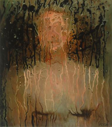 "Self Portrait 18.5x16"" 2004"