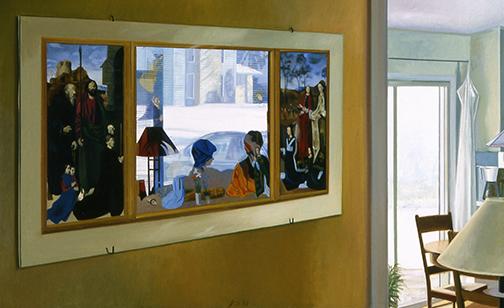 """Winter Conversation 40x50"""" 2003 (sold)"""