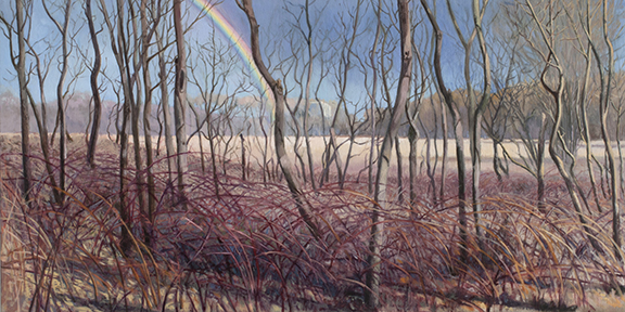 "April 8 Lincoln Marsh 12x24"" 2014 (sold)"