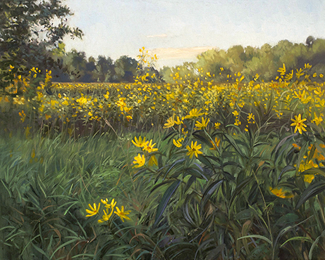 "September 5 Lincoln Marsh 16x20"" 2014 (sold)"