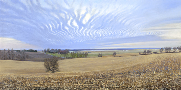 "Fox Valley Near High Point Rd., 18x36"" - 2018  SOLD"