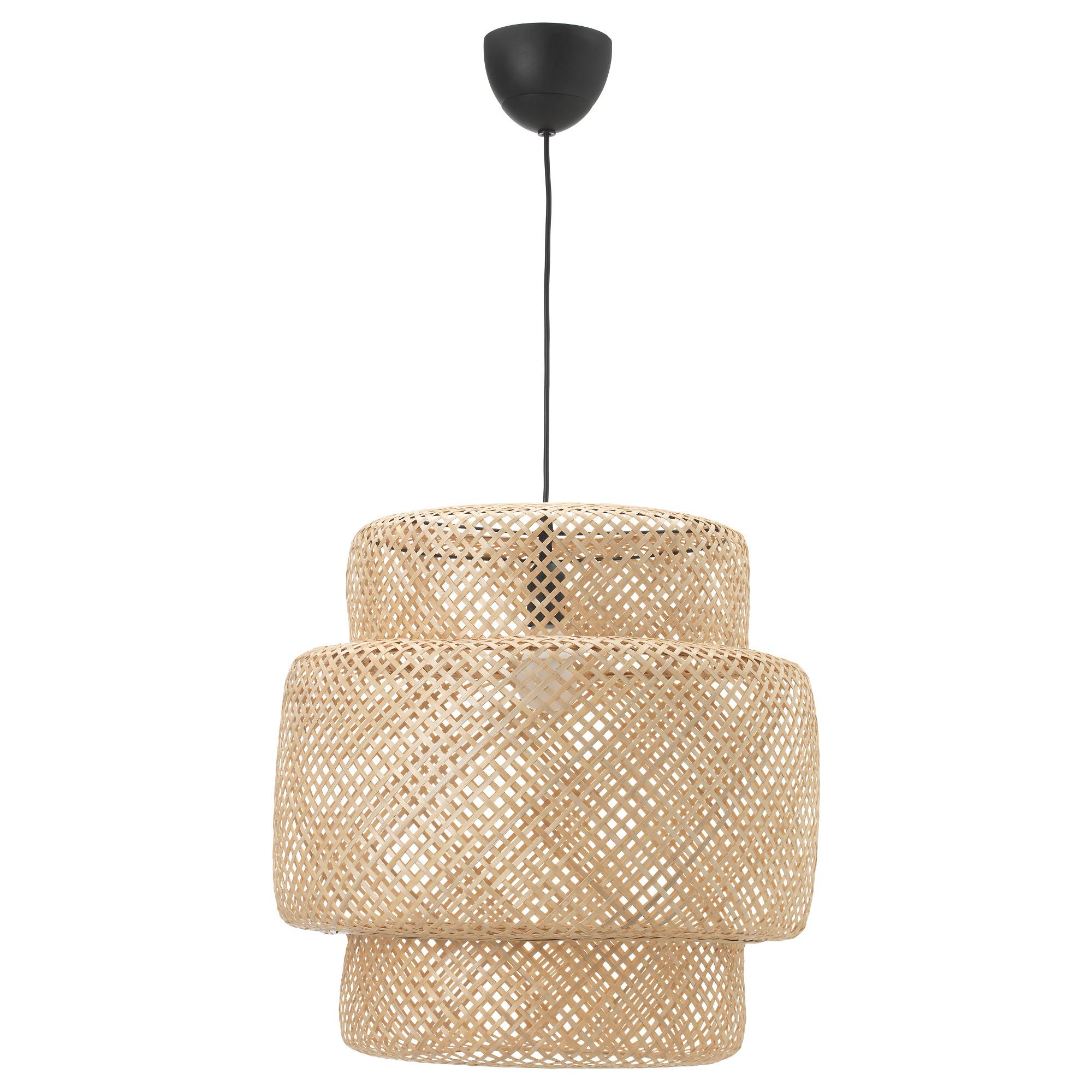 SINNERLIG PENDANT LAMP - Bamboo, $59.99