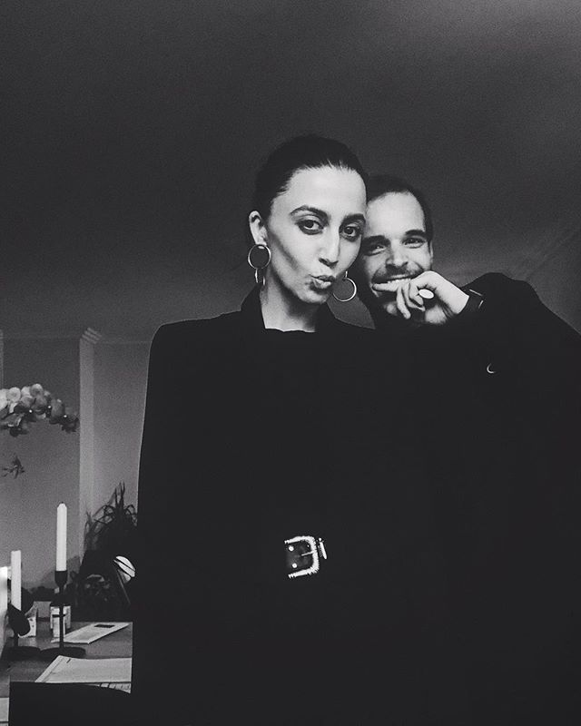 🖤 my person // two peas in an all-black-everything pod ☠️