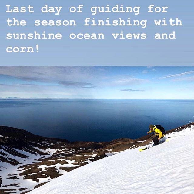 #skiiceland #skitouring #springskiing #skitothesea #bergmennguides #arcticheliskiing #stenbergguides