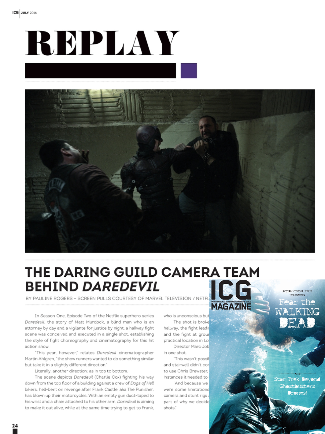 ICG Magazine - July 2016