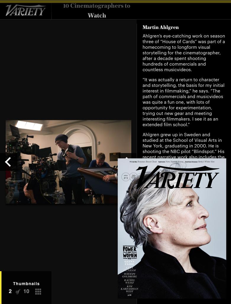 Variety Magazine - April 2015