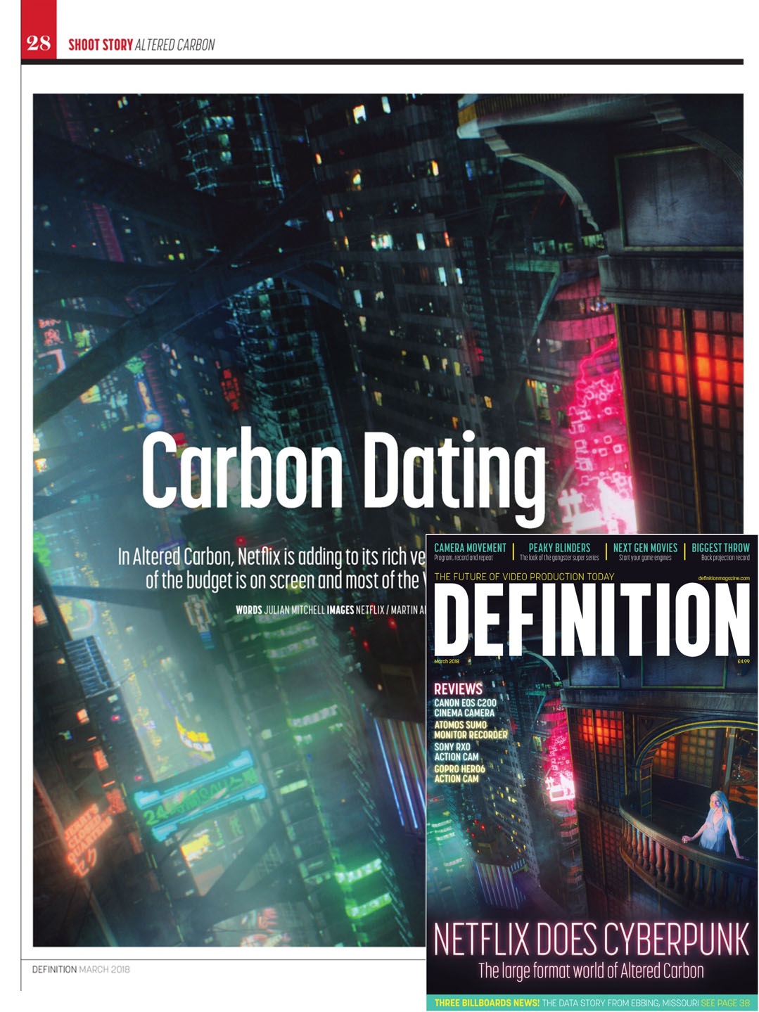 Definition Magazine - March 2018