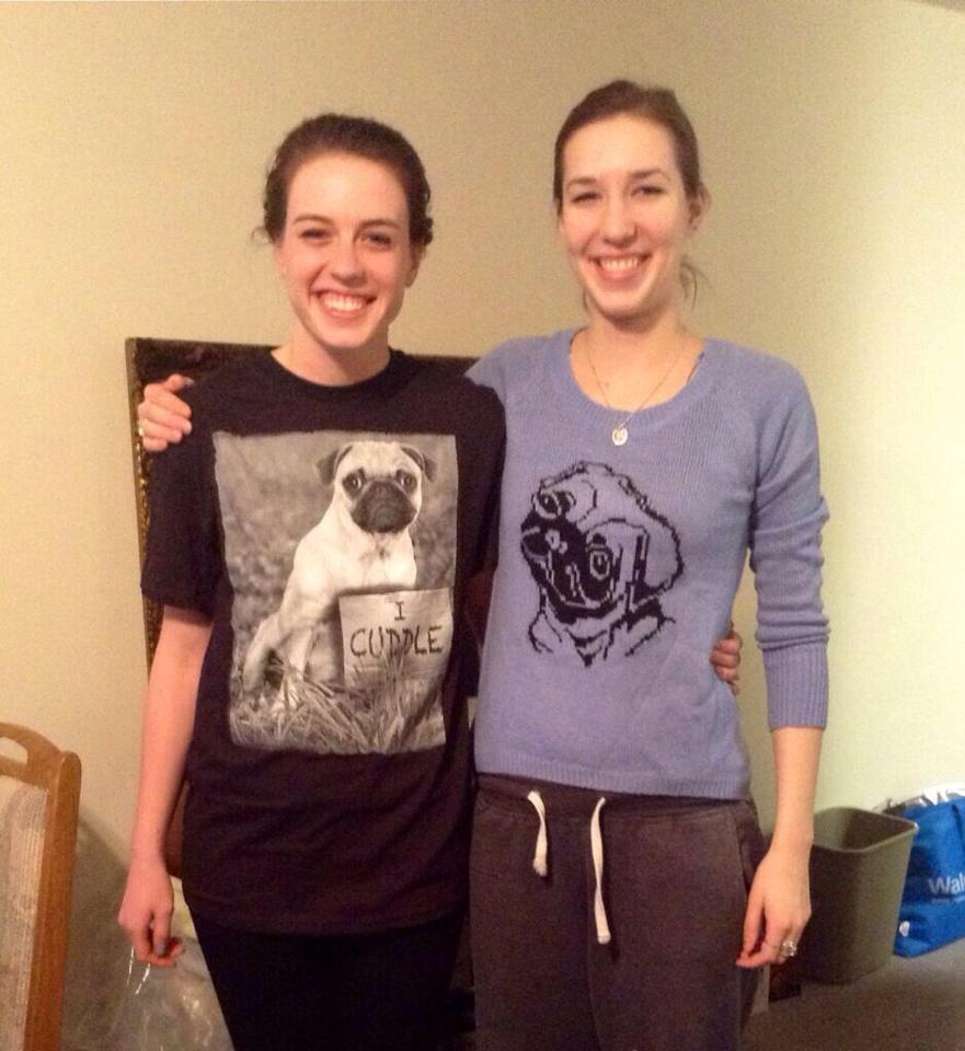 The pug shirts