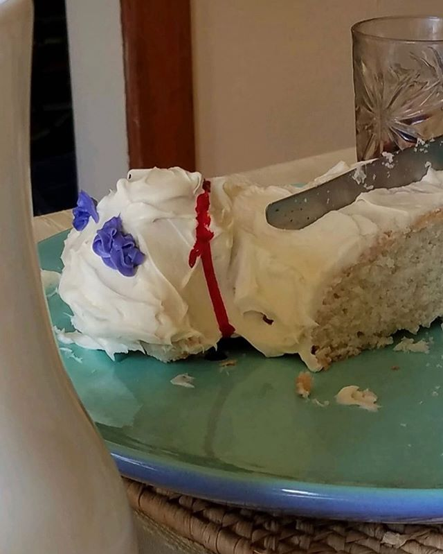 The real life Pinterest fail Easter lamb cake a listener sent us 😂🐑 s/o @madnessplanner