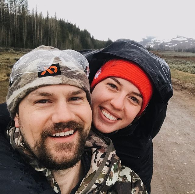 Good news! We (Kaylie and Micah) survived camping in grizzly country! 🐻 Swipe to the last slide to a see claw marks in a tree. 👍🏻