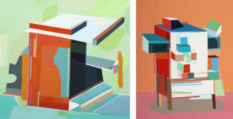 The houses that take me, 2015 / The intimate, 2015