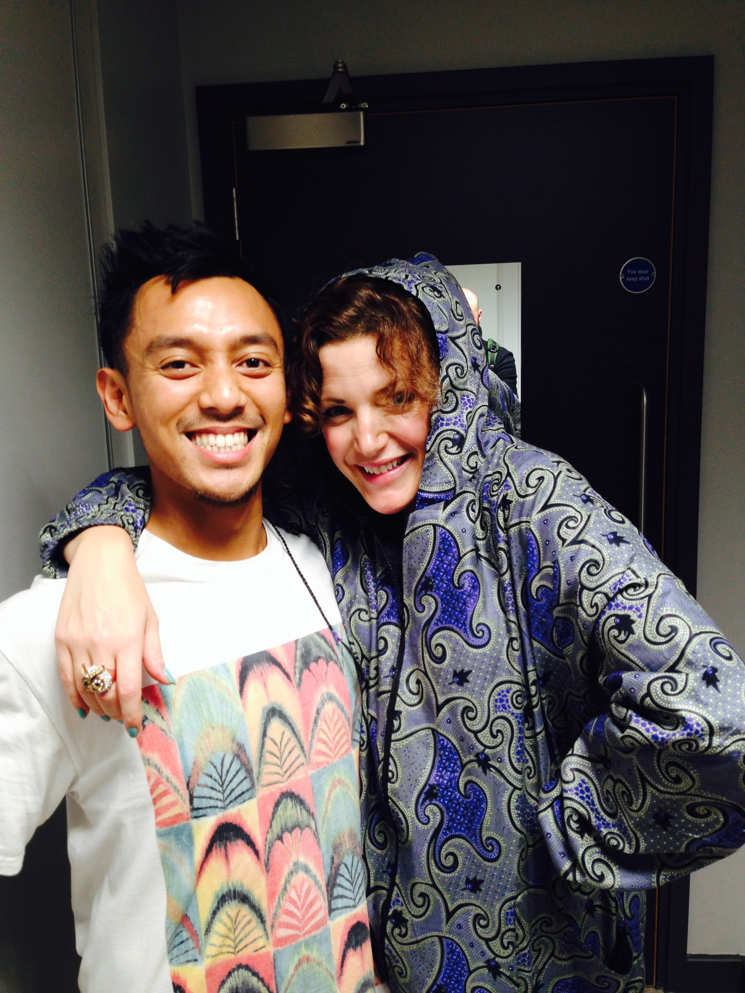 Angga kara with Annie Mac