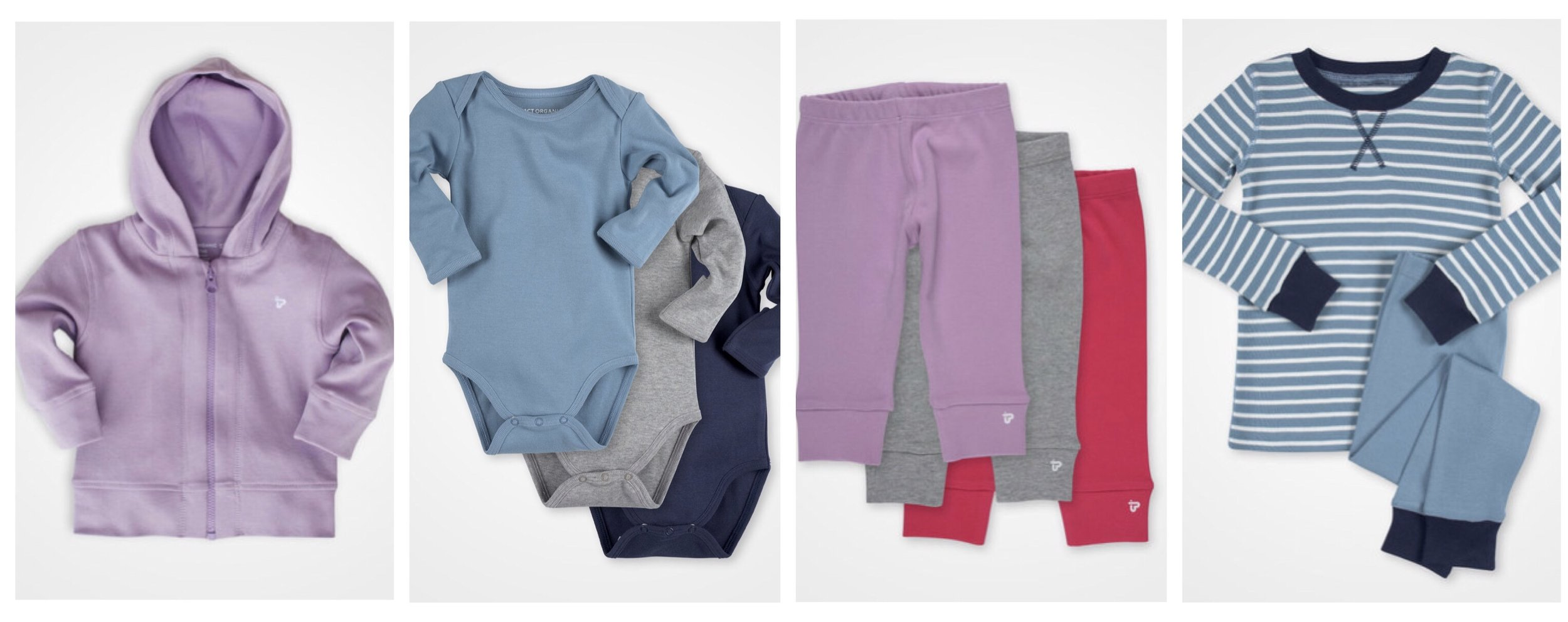 Pact baby clothes