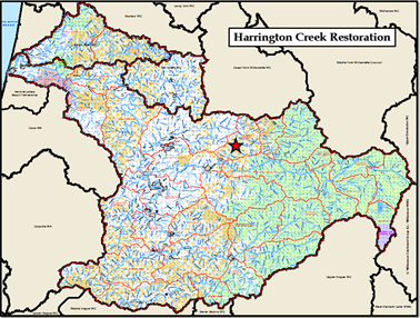 Harrington Creek Map