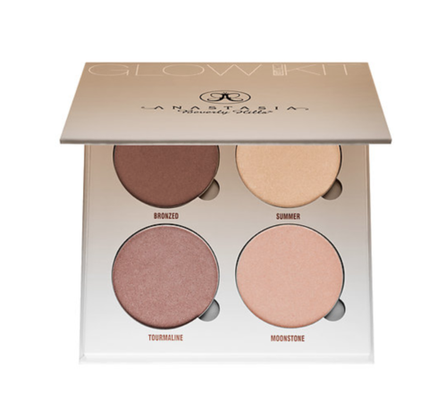Anastasia Beverly Hills Glow Kit - Now that's a glow. ANASTASIA Glow Kit is a highlight palette that allows you to contour and shine all at the same time.