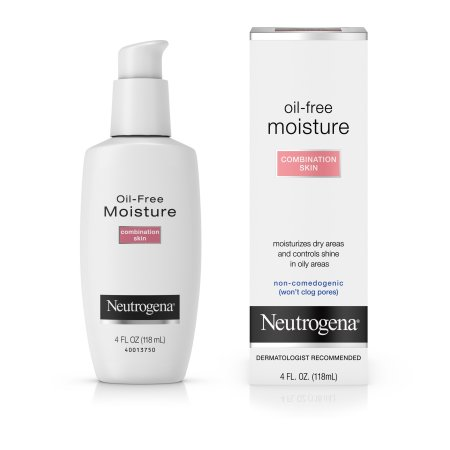 Neutrogena Oil-Free Moisturizer - This oil-free face moisturizer is an all-in-one product that is perfect for individuals who have both dry and oily skin. Its light weight formula leaves your face feeling clean and smooth