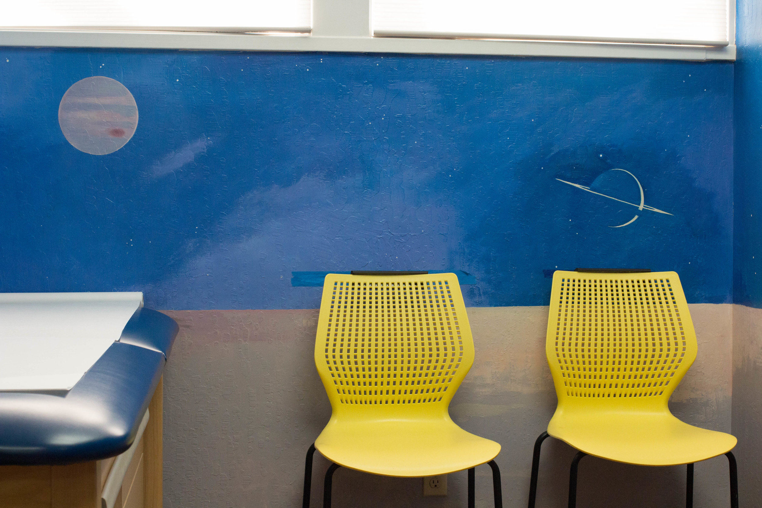 Our exam room murals
