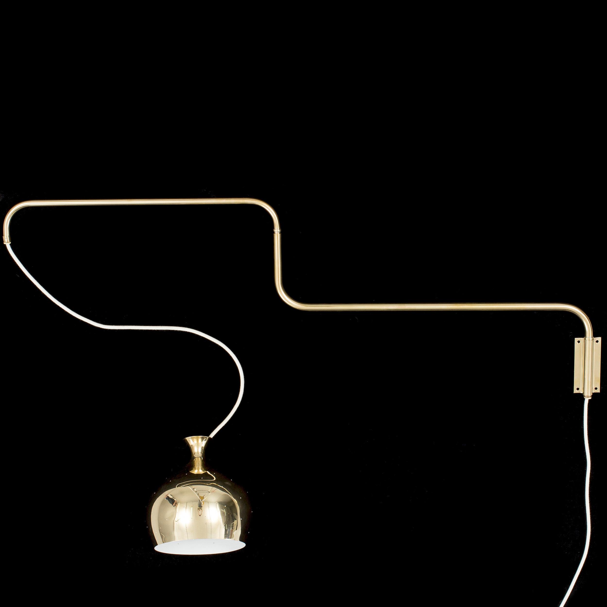 "Lampa ""Löken"" — Helge Zimdal 1960"