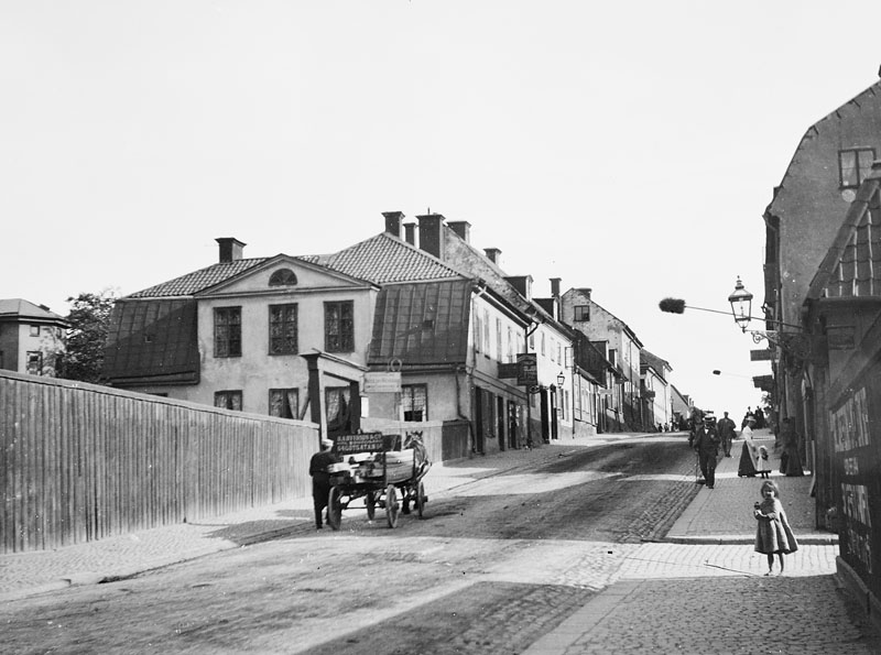 Götgatan söderut från Blekingegatan 1885