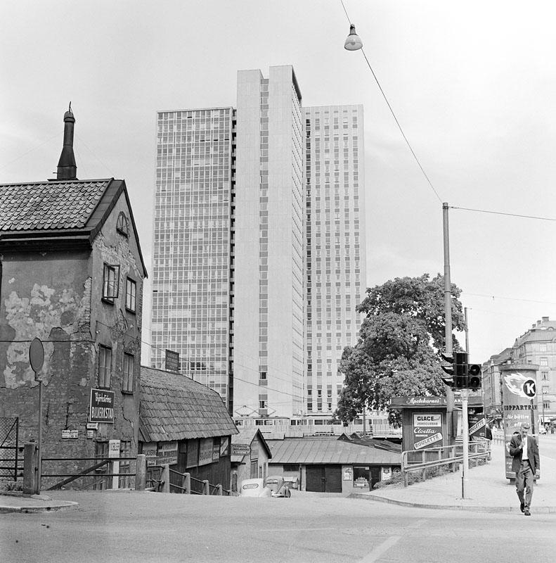 Blekingegatan - Götgatan 1960