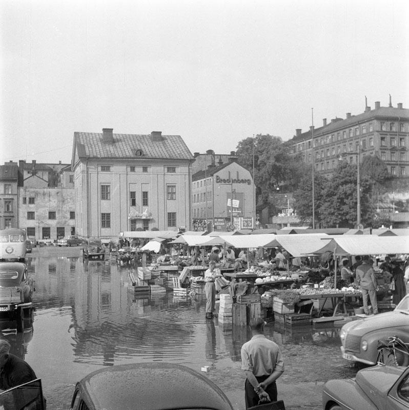 Medborgarplatsen 1955