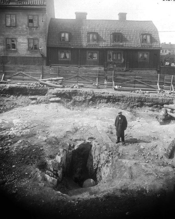 Götgatan, Blekingegatan och Gotlandsgatan 1902