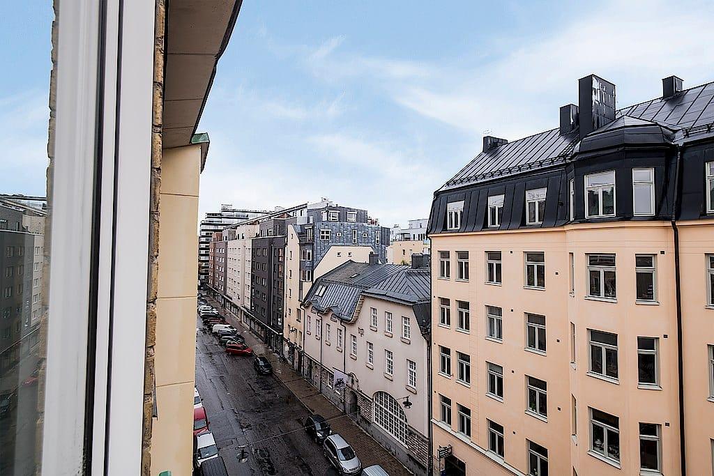 Utsikt — Blekingegatan 57