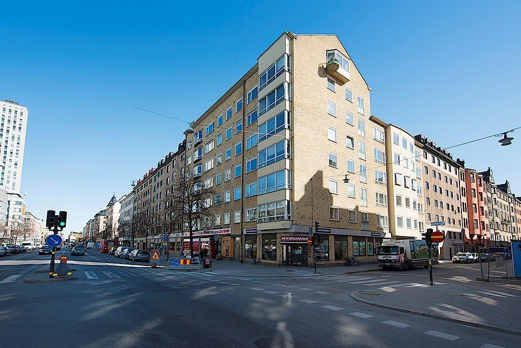 Fasad — Hörnet Götgatan 79 och Blekingegatan 57