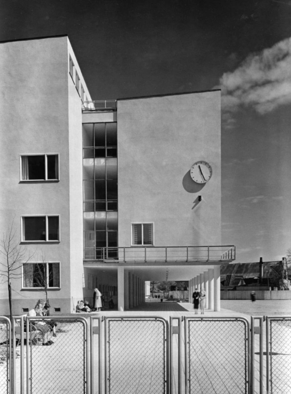 Socialhögskolan — Arhrbom & Zimdal 1936