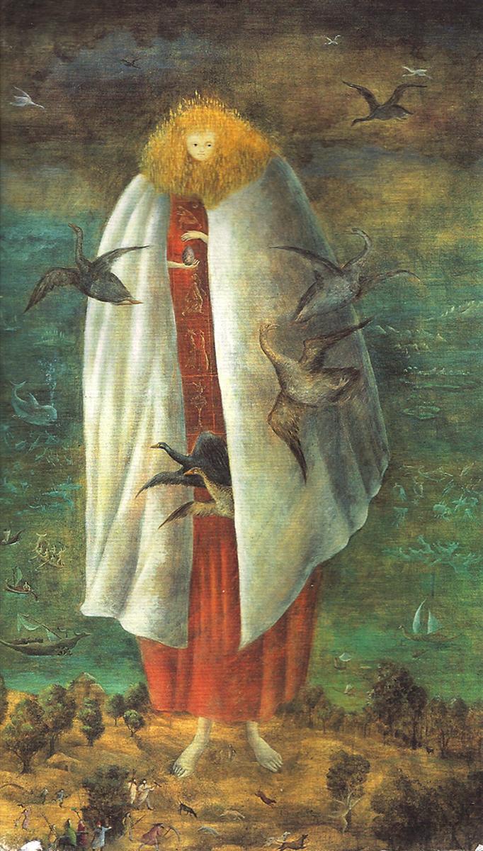 La Giganta , 1947. Leonora Carrington